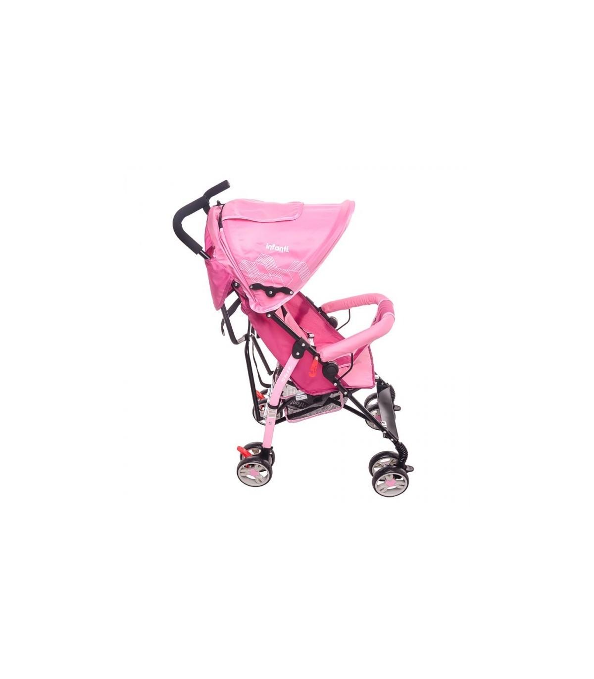 6ed2c4bae Carreolas Nuevas De Bastón Infanti Skit Pink Carreola