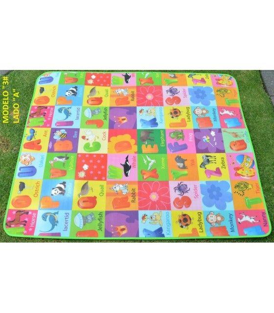 Tapete de Juego Portable Portatil 150 x 180 cm Bebe Infantil