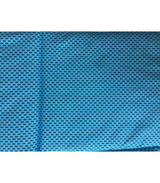 Cama Cuna Portátil Plegable Azul Mosquitero Bebé