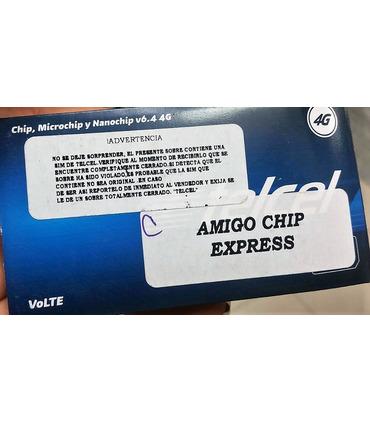 Chip Amigo Express Telcel Lada 55 de CDMX Región 9