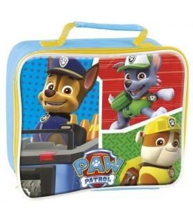 Lonchera Infantil Mochila Bolsa Rectangular Paw Patrol Patrulla