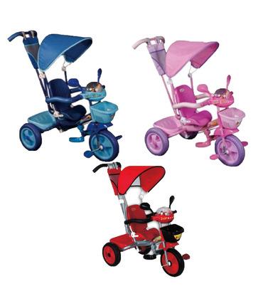 Triciclo Para Bebe Niños Varios Colores Apache Cajuela Barandal