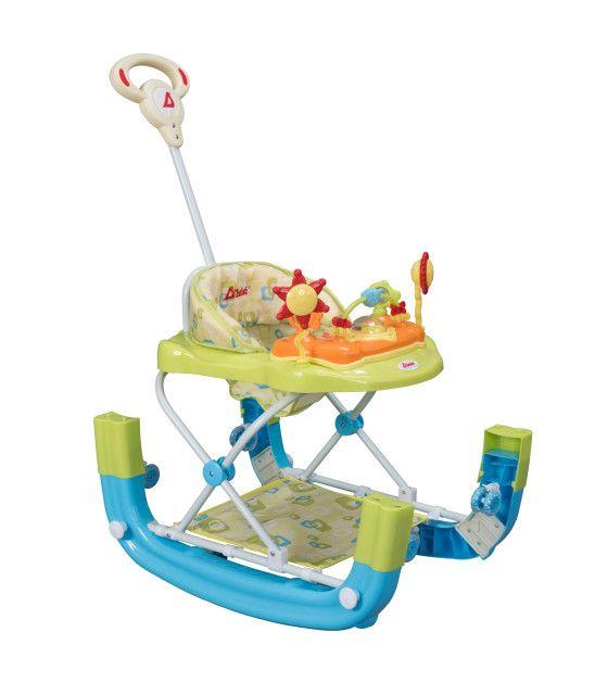 Andaderas para Bebes Mecedora con Bastón Lujo varios colores