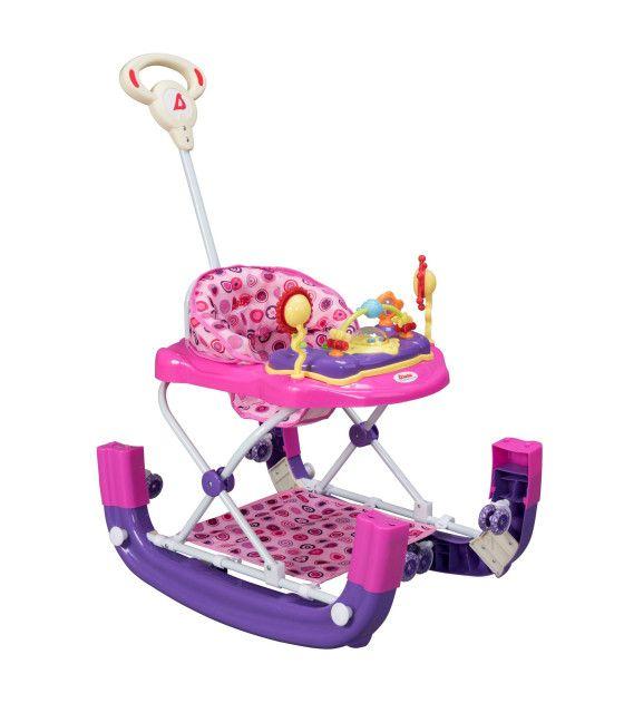 Andaderas para Bebes Mecedora con Bastón Lujo MSI varios colores
