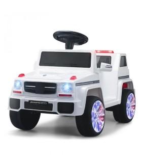 Carro Electrico Montable Con Control rojo, rosa o blanco