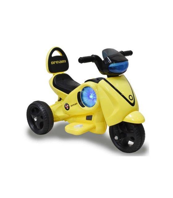 Moto Electrica Infantil Montable LED 6V msi 3-8 años 3 llantas