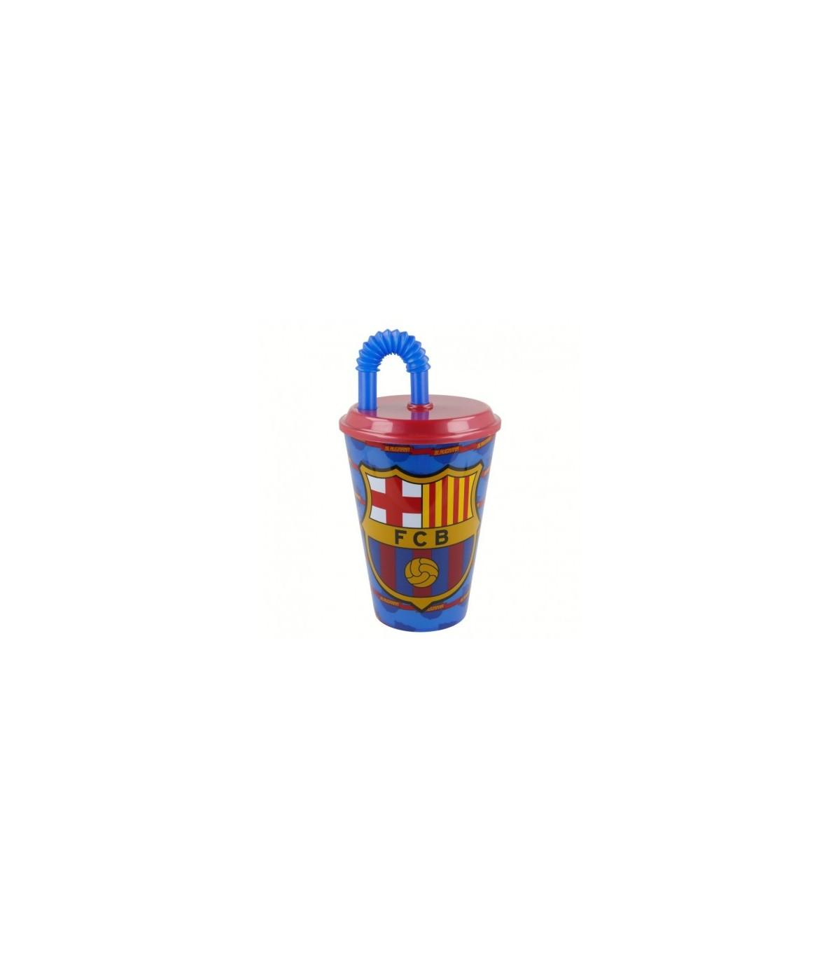Vaso con Popote de 430 ml Futbol FC Barcelona FCB 972605724f6