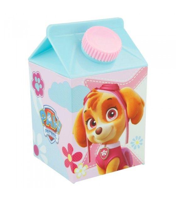 Paw Patrol La Patrulla Canina - Botella brik 450 ml plastico Rosa