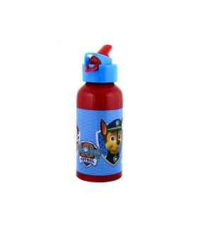 Botella Aluminio Ergonomica Paw Patrol