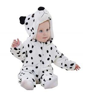 Mameluco para Bebe con Capucha 6-24 Tigre meses disfraz