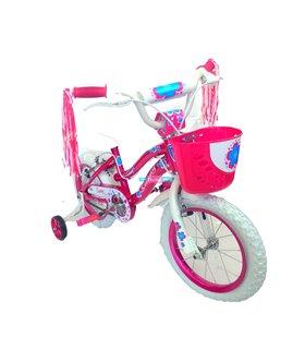 Bicicleta Infantil niña r14 Rodada 14 Bicicletas Baratas