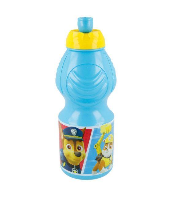 Botella de plástico de Paw Patrol de 400 ml para niño