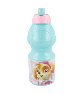 Botella de plástico de Paw Patrol de 400 ml para niña