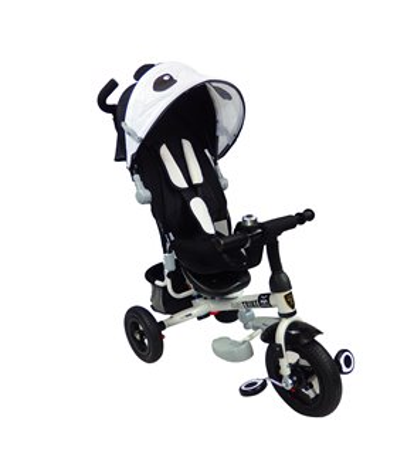 Triciclo para Bebe de lujo Llantas de Aire Animal Evolutivo 6-5 años Panda