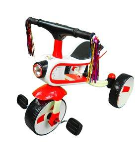 Triciclo, Bicicleta y correpasillos 3 en 1 hasta 6 años Rojo