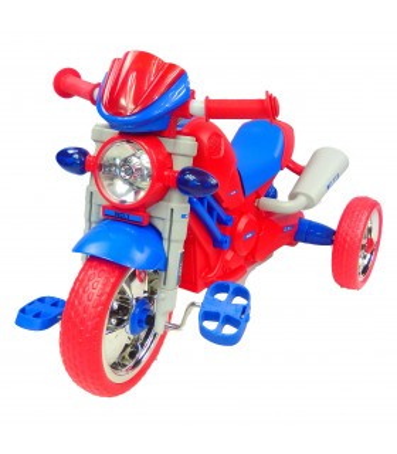 Triciclo para Niños Musical tipo Motocicleta Montable