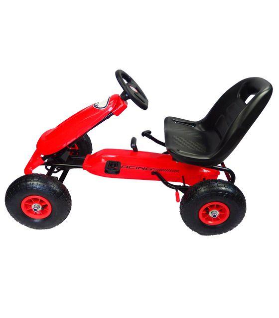 copy of Kart Montable de Pedales Carrito Llantas de Aire Triciclo de Carreras