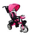 Triciclo para niño y niña con asiento giratorio a 360 Rosa