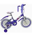 Bicicleta Infantil para niña rodada 16, 5-10 años, 100-120cm