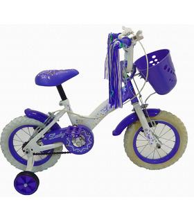 Bicicleta Infantil para niña rodada 12,2-4 años,70-85 cm