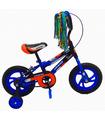 Bicicleta Infantil para niño Rodada 12 con llanta de goma