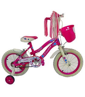 Bicicleta Infantil para niña rodada 14 Sunny
