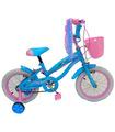 Bicicleta Infantil para niña rodada 14 Cielo-Rosa