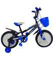 Bicicleta Infantil para niño rodada 14 Negro-Azul