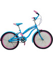Bicicleta Infantil para niña rodada 20 Cielo-Rosa