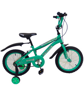 Bicicleta Infantil para niño rodada 16 Aqua