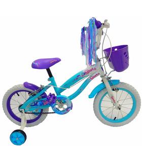Bicicleta Infantil para niña rodada 14 SPARKS
