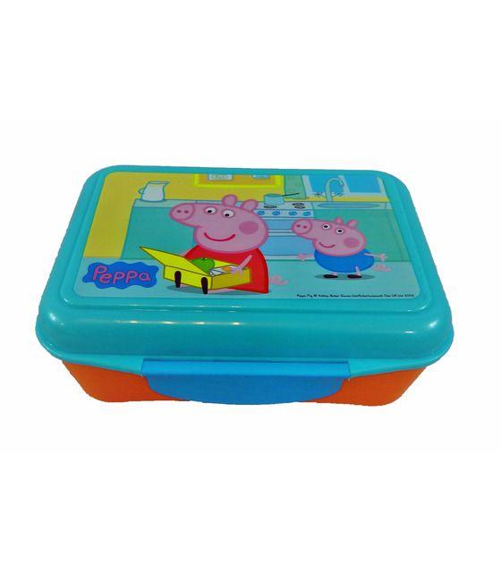 Caja de Almuerzo Peppa Pig 7x10x16,plástico