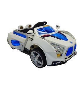 Carro eléctrico con música, luces y control remoto