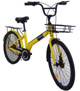 Bicicleta infantil de paseo rodada 24 para niño o niña