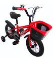 Bicicleta Infantil para niño rodada 12 con llantas de entrenamiento