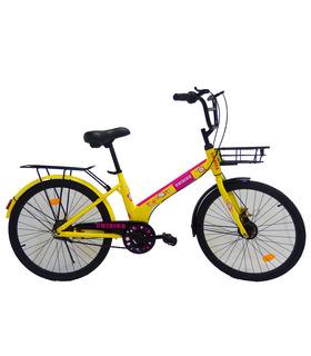 Bicicleta de paseo Rodada 24 Rosa
