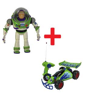 Figura Buzz Parlante 35 cm + RC Toy Story de 35 cm