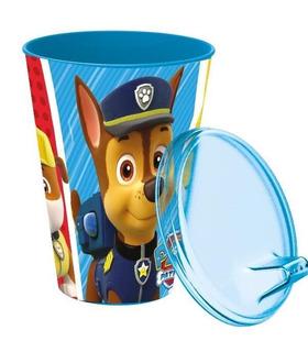 Vaso con tapa y sipper 430ml Paw Patrol Azul Patrulla Canina