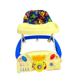 Andadera Para Bebe musical con juguetero de Lujo