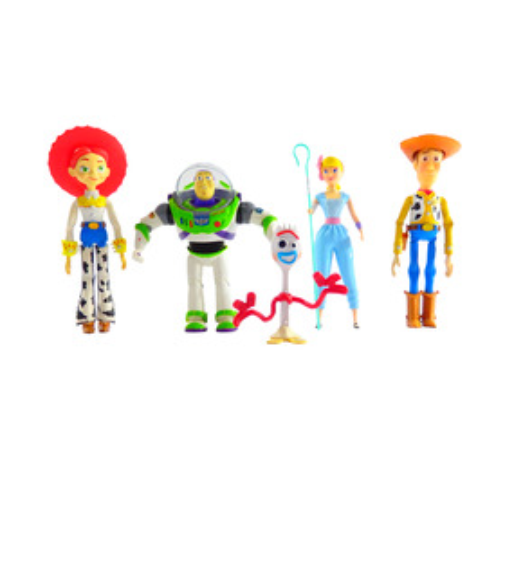 Muñecos Toy Story 4 Buzz Lightyear,Woody,Bopeep,Jessie,Fork