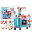 Cocina de Juguete para niños con 34 accesorios sonido y luz
