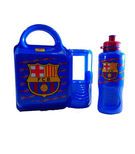Lonchera con botella 400 ml de FCB FC Barcelona FCB