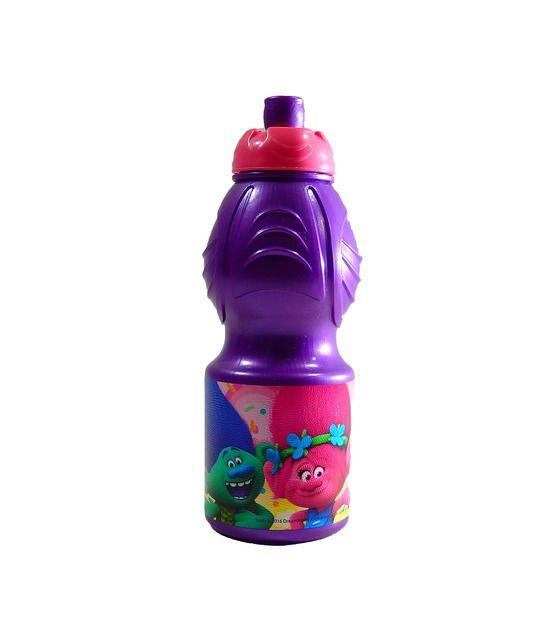 Botella de Trolls de 400 ML con cierre de seguridad