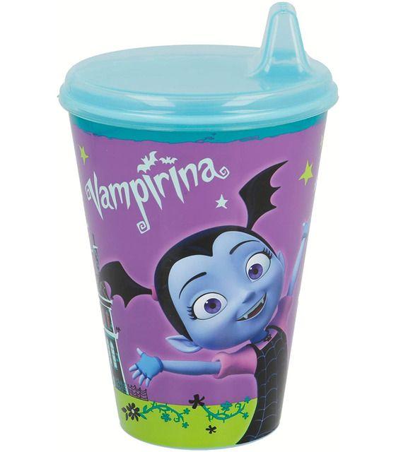 Vaso con Sipper 1pz de 430 ML Vampirina Disney