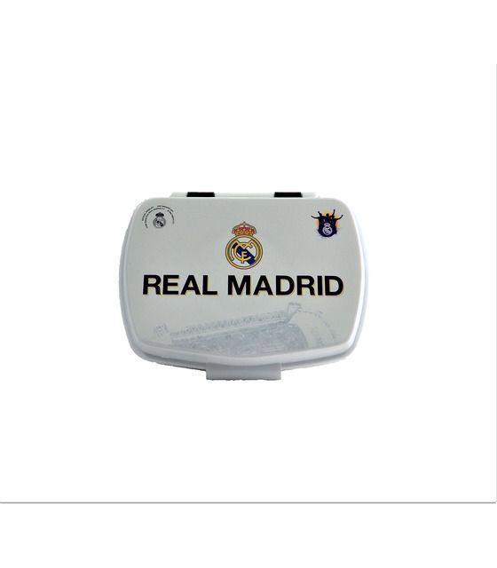 Lonchera rectangular de Futbol Real Madrid