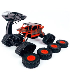 Carro Control Remoto Intercambiable, 15 km/h, 1:18, 2.4GHz