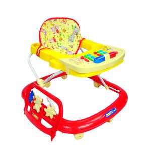 Andadera Para Bebe musical con juguetero y 8 llantas