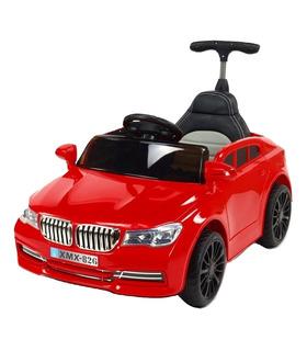 Carro electrico montable con control remoto y bastón 12V 3 km/h