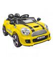 Carro electrico montable con control remoto,mp3, usb, 12V, 3 km/h