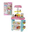 Tienda de helados Infantil con Caja Registradora y 28 acc